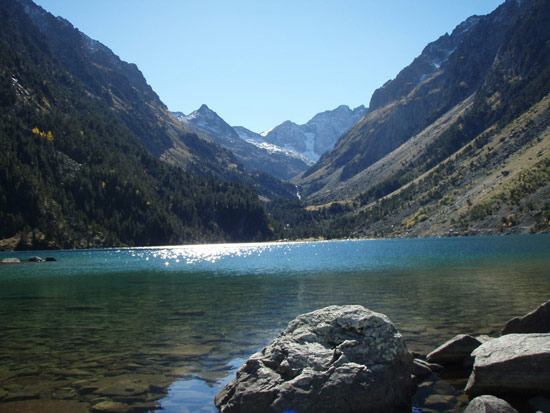 Lac Gaube, at the foot of the Vignemale